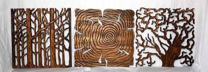 tree of carved wooden wall images