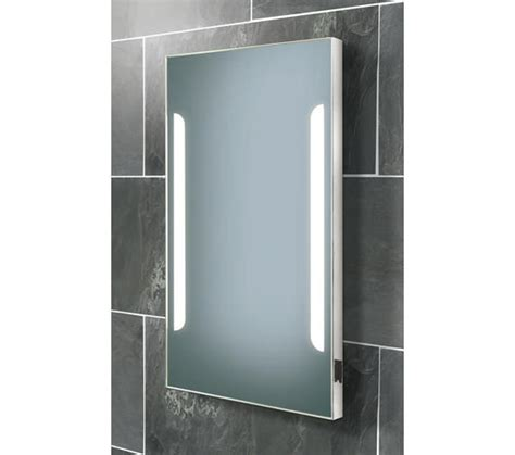 steam free bathroom mirrors hib zenith back lit steam free mirror with shaver socket