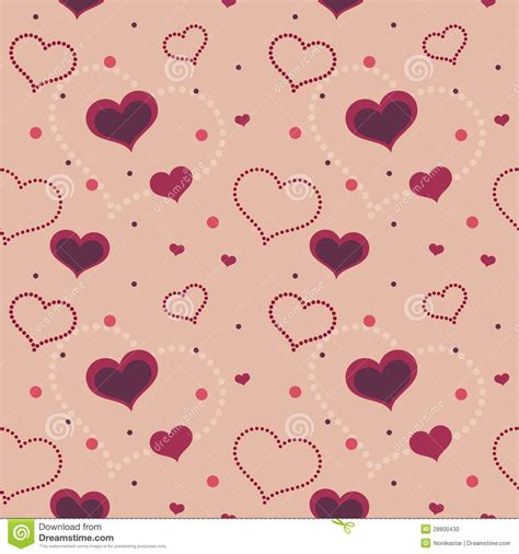 valentine pattern vector valentine hearts seamless pattern stock photo image