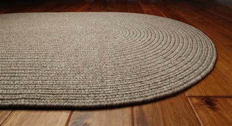 white braided rug homespice decor ultra durable braided oval white area rug hoslateova