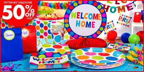 decorations for welcome home welcome home