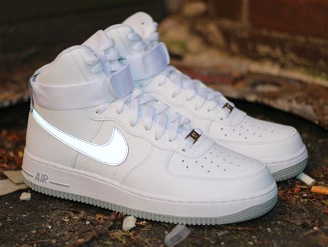 imagenes nike air force one nike air force 1 high white reflective silver