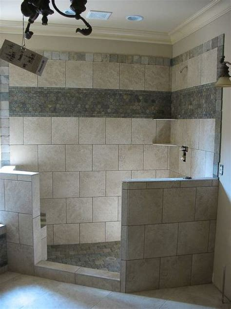 bathroom tile border ideas 1000 images about shower remodeling on pinterest pebble