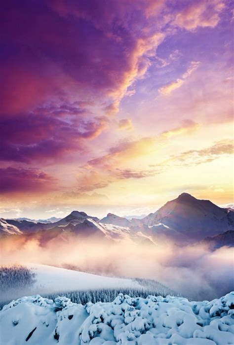 d iphone wallpaper purple skies wallpapers and backgrounds ios 7 wallpaper ios 7 and nature