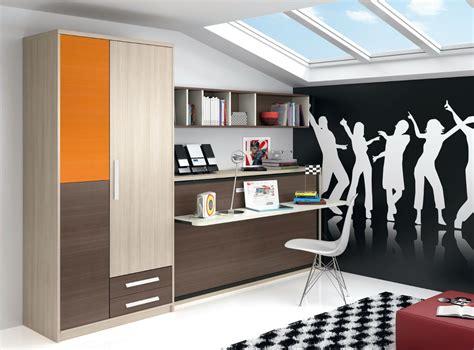 habitaciones juveniles camas abatibles dormitorio infantil juvenil moderno literas abatibles 69 f215