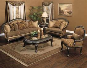 Brown Living Room Furniture Sets Plushemisphere Traditional Sofa Sets