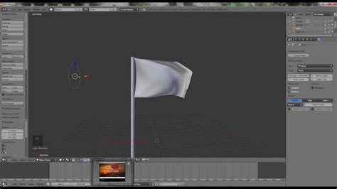 Blender Quick Tutorial | blender 2 65 quick tutorial vii cloth simulation with