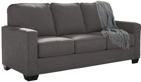 zeb sleeper sofa zeb charcoal sofa sleeper 3590136