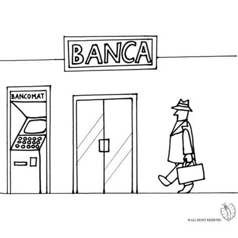 banche immagini gratis disegno di da colorare per bambini