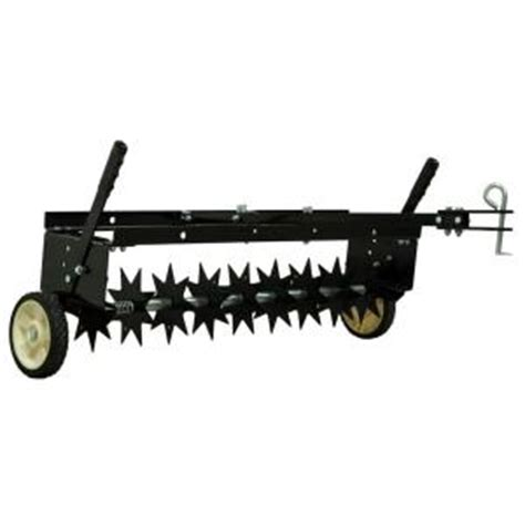 agri fab 36 in steel tow spike aerator 45 0510 the home