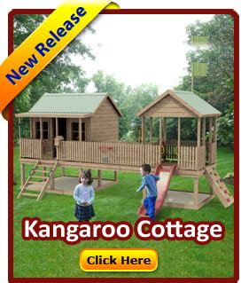 Kangaroo Cottage by Cubbykraft Launches Brand New Release Cubby Houses