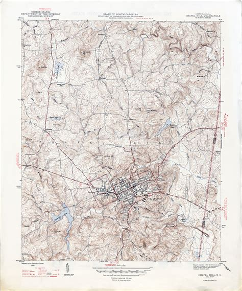 carolina historical topographic maps perry