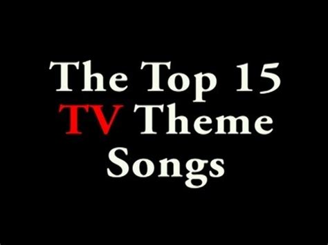 theme songs by the who top 15 tv theme songs youtube