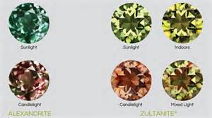 color changing stones color chameleon 187 zultanite 174 gems