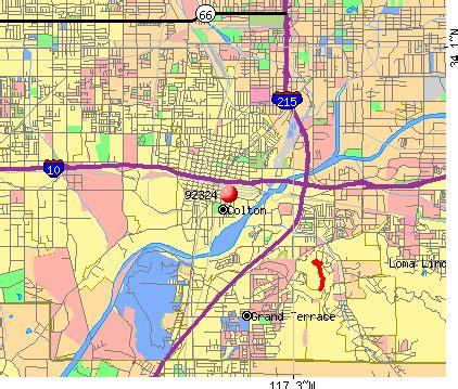 colton california map 92324 zip code colton california profile homes