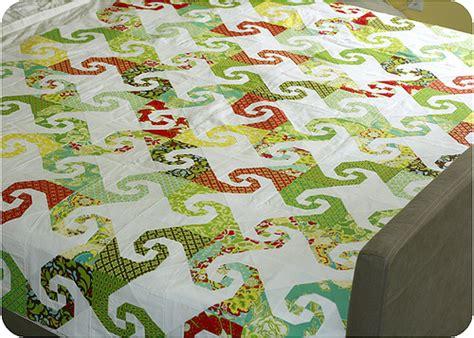 quilt pattern snail s trail twin fibers parasols quilt progress snails trail pattern