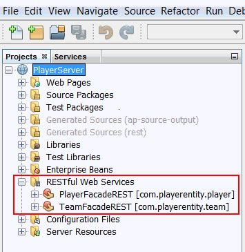 netbeans tutorial restful web services developing an ajax client for restful web services in