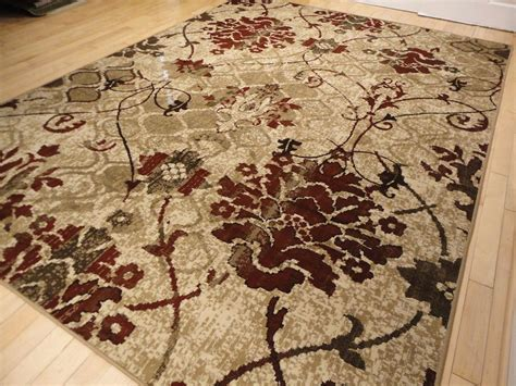Modern Rugs 8x10 Modern Rug Contemporary Area Rugs Burgundy 8x10 Abstract Carpet 5x7 Flower Rugs Ebay