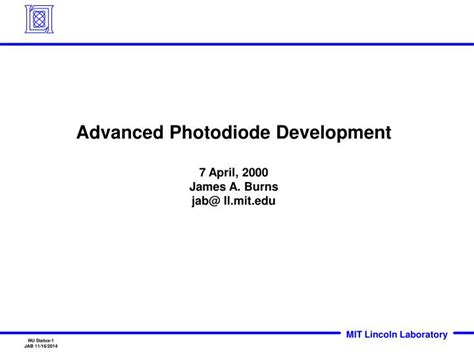 photodiode ppt photodiode ppt 28 images advances in avalanche photodiodes ppt photodiode led discription