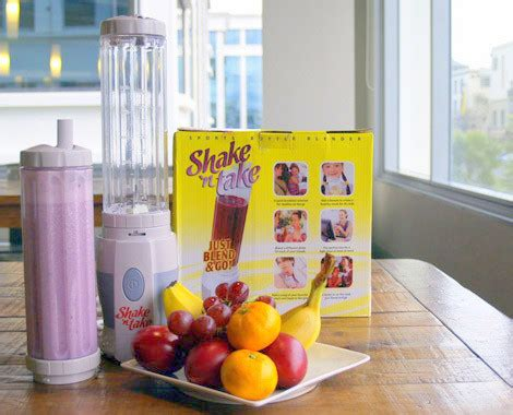 Juicer Gelas shake and take blender mini juicer 2 tabung jadi gelas