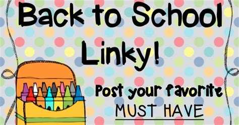 14 must have back to school ideas pinkwhen a day in the life of a kindergartner back to school linky