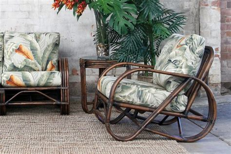 pretzel armchair naturally rattan and wicker furniture