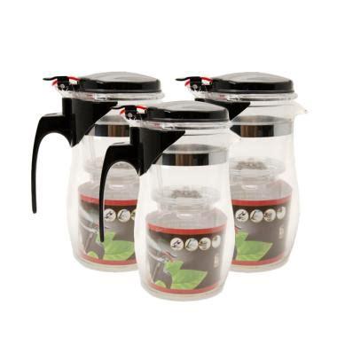 Teko Teh Kopi Kaca Stainless 304 Dengan Filter Ttkb Perak jual teko kopi daftar harga spesifikasi terbaik blibli