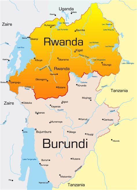 africa map rwanda rwanda africa map