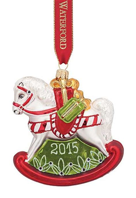 waterford holiday heirlooms nostalgic collection waterford heirloom nostalgic collection baby s rocking ornament
