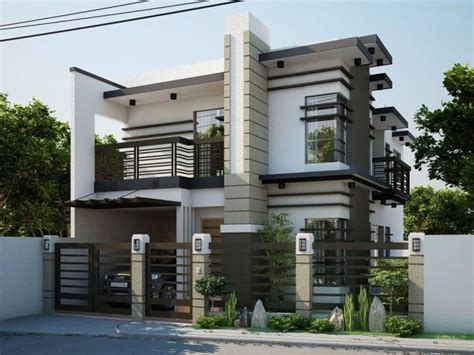 Elegant Nice Looking Modern Contemporary House Designs Modern Architecture House Plans Philippines