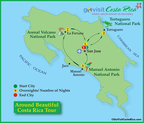 san jose costa rica map pdf around beautiful costa rica tour go visit costa rica
