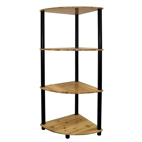 4 tier corner bookshelf ojcommerce