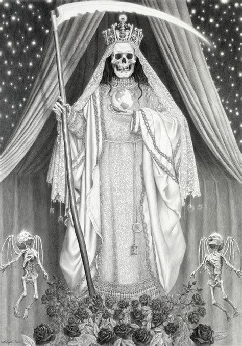 Santa Muerte Of selling holy from grim reaper to skeletal