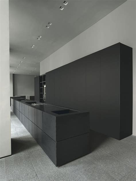 minimal kitchen cabinets adorable decor minimalist island beautiful minimal minotti cucine kitchen matte black