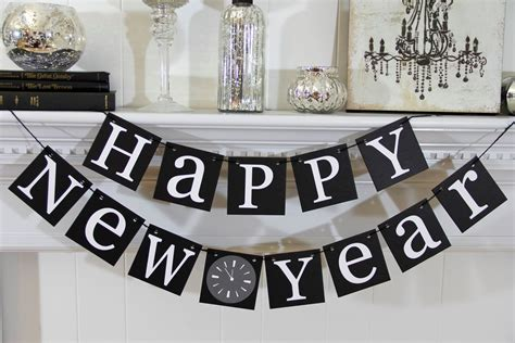 new year ideas 2017 new year s decorating ideas banners garlands