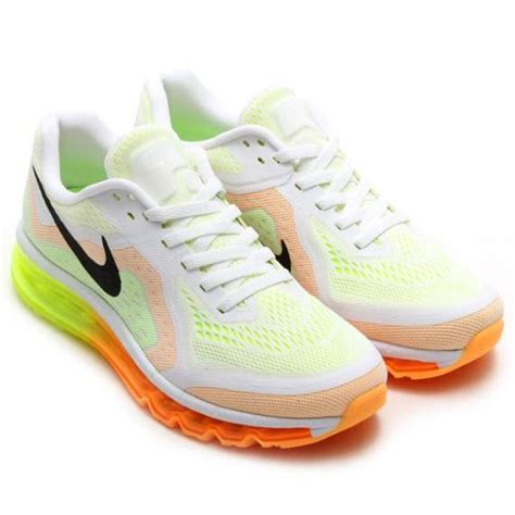 sport shoes 2014 nike airmax 2014 white orange sports shoes sports shoes
