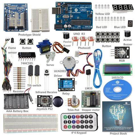 arduino the complete guide to arduino for beginners including projects tips tricks and programming books details about sunfounder starter beginner kit for arduino