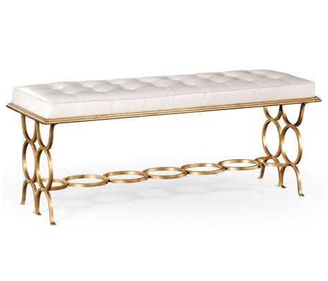 upholstered bench uk designer bedroom upholstered bench gilded swanky interiors