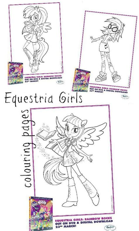 My Little Pony Equestria Girls Colouring Pages My Little My Pony Equestria Coloring Pages To Print Free