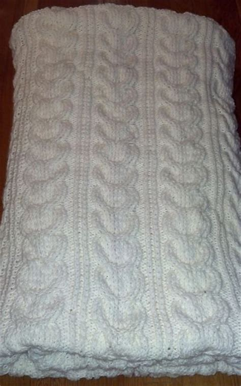 cable knit throw pattern free 17 best images about knitting blankets on