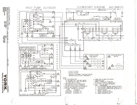 york wiring schematics wiring diagram with description