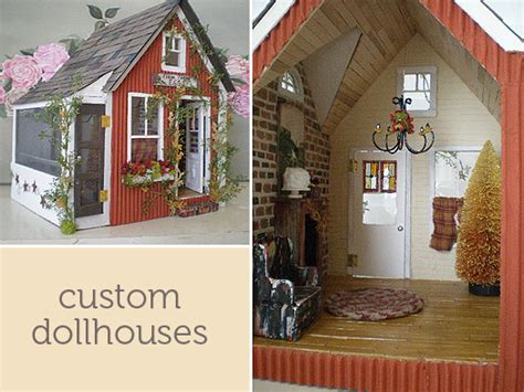 custom made doll houses custom dollhouses charming ink