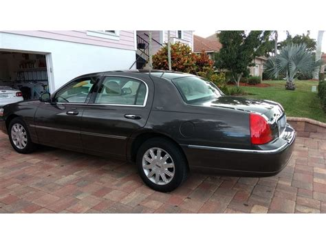 2006 lincoln town car sale 2006 lincoln town car for sale by owner in marco island