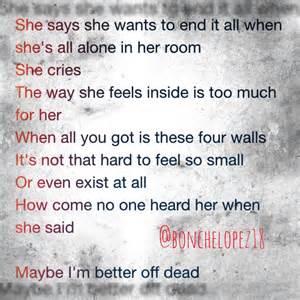 better dead lyrics 25 best ideas about better dead on