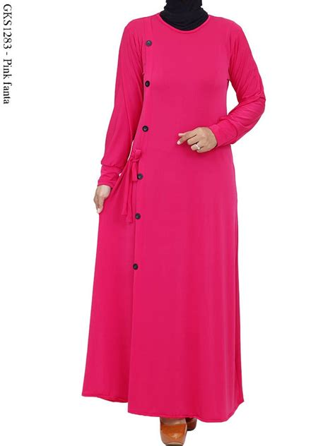 Baju Gamis Polos gambar gamis polos gambar gamis polos gks1283 gamis