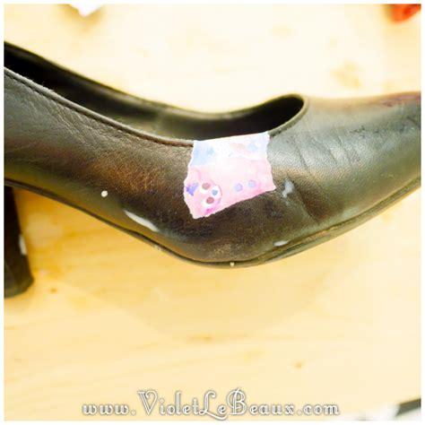 Diy Decoupage Shoes - how to diy decoupage shoes tutorial violet lebeaux