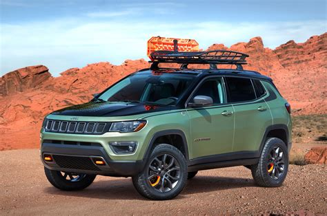 Jeep Truck Concept Jeep Reveals Grand Wrangler Compass Concepts