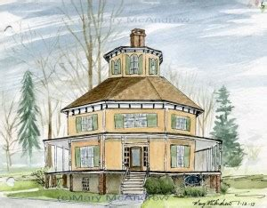 octagonal houses and their opposite leaves tracks and an octagon house 171 mary mcandrew