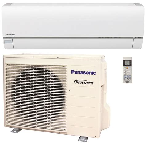 kapasitor fan indoor ac panasonic panasonic 15 000 btu 1 25 ton exterios xe high seer ductless mini split air conditioner with