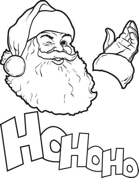 free santa claus coloring pages free printable santa claus coloring page for kids 8